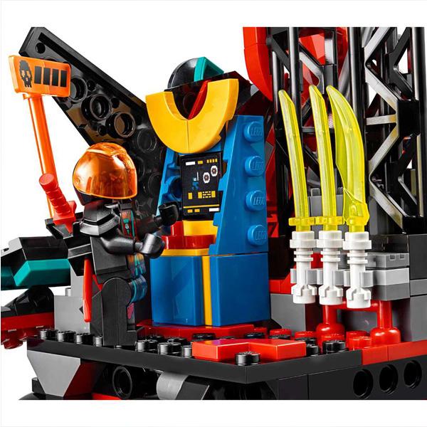 LEGO Ninjago 71712 Конструктор ЛЕГО Ниндзяго Императорский храм Безумия