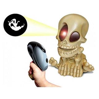 Johnny the Skull 0669-2 Проектор Джонни Череп с двумя бластерами