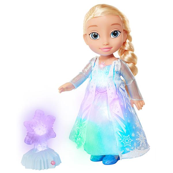 Disney Princess 297750 Принцессы Дисней Кукла Холодное Сердце Эльза Северное сияние, функциональная, 35 см