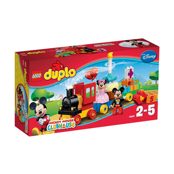 Конструктор Lego Duplo 10597 Лего Дупло День рождения с Микки и Минни