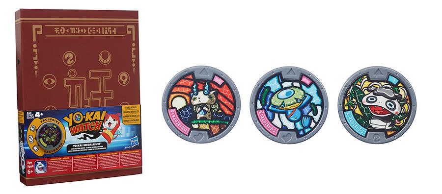 Медали Yo-Kai Watch