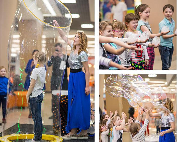 мыльные пузыри на празднике в TOY.RU