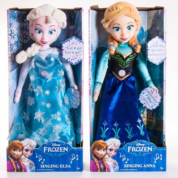 Disney 12960 Функциональная кукла Холодное сердце 35 см, в ассортименте
