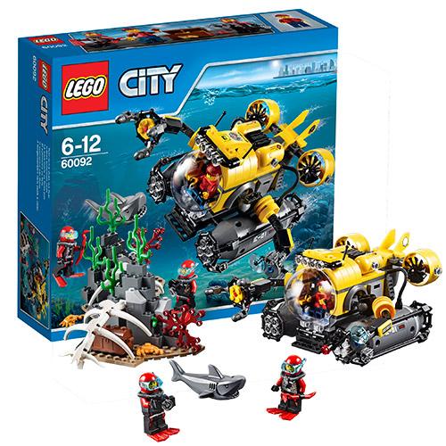 Конструктор Lego City 60092 Лего Город Подводная лодка
