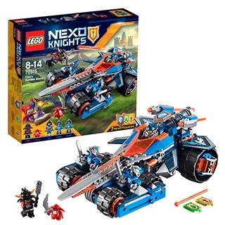 Лего Нексо Устрашающий разрушитель Клэя 70315