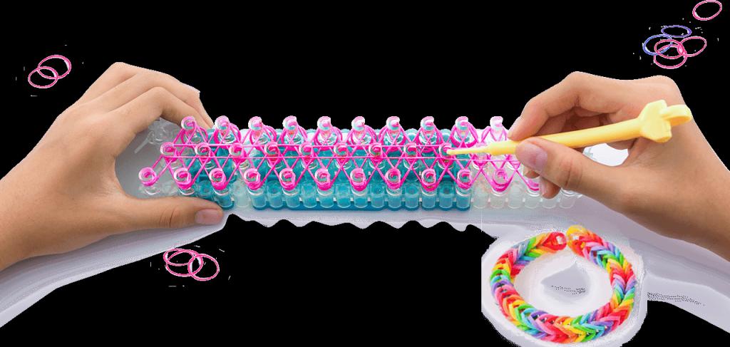 Наборы для плетения браслетов из резиночек Crazy Loom