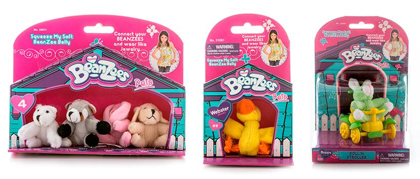 Мягкие игрушки Beanzeez