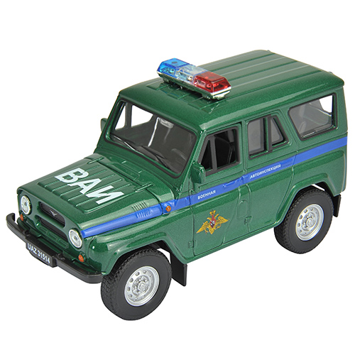 Welly 42380MC Велли Модель машины УАЗ 31514 Военная Автоинспекция