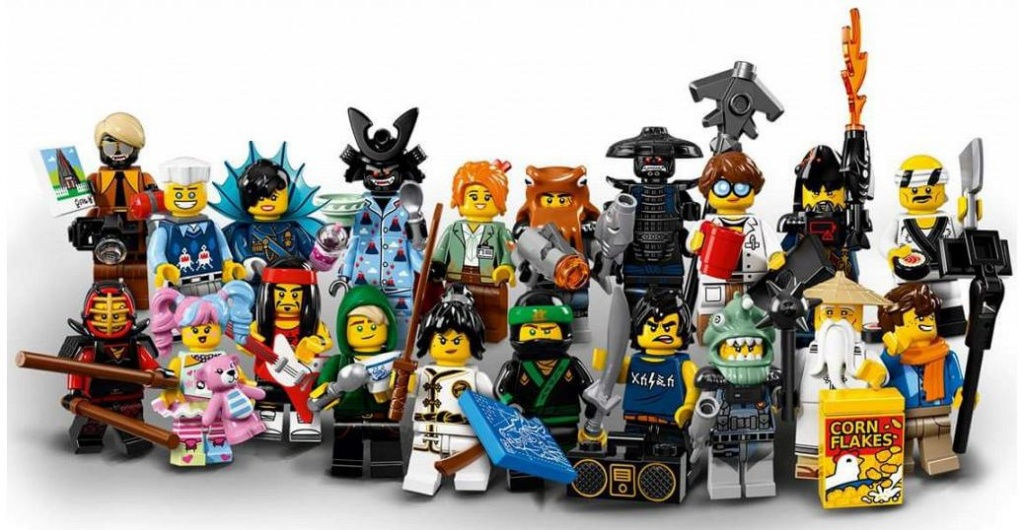 LEGO Minifigures 71019 Лего Фильм: Ниндзяго