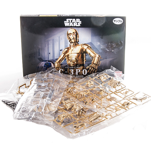 Star Wars Bandai 84617 Звездные Войны Сборная модель C-3PO 1:12