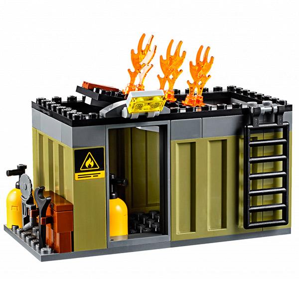 Лего Город Пожарная команда быстрого реагирования 60108