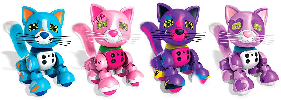 Игрушечные интерактивные котята Zoomer