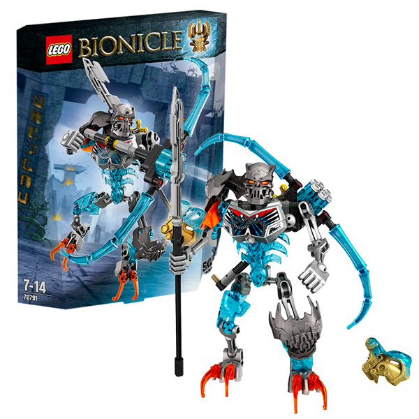 Lego Bionicle 70791 Лего Биониклы Леденящий Череп