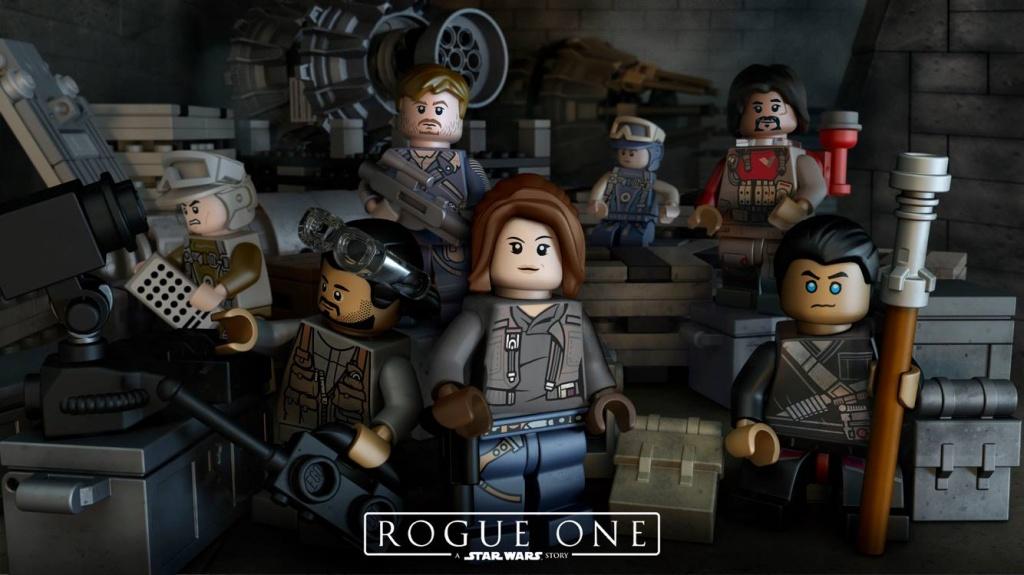 Вышли в продажу наборы Lego Star Wars Rogue One - новинка декабря 2016