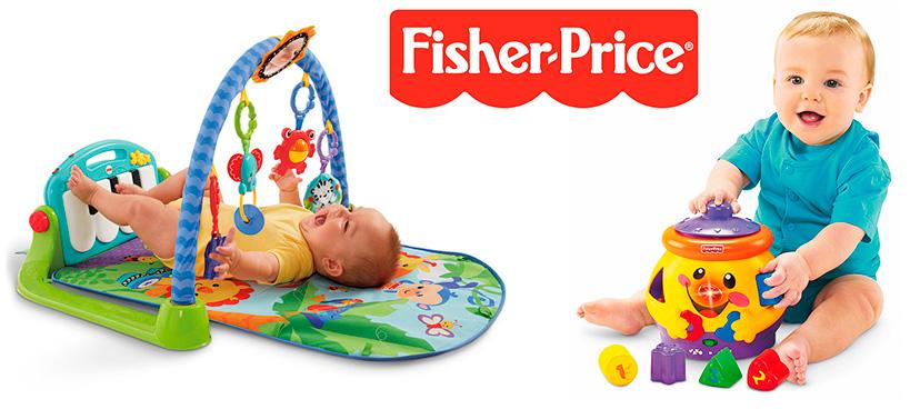 Детские игровые центры Fisher Price