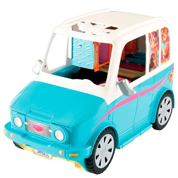 Barbie DLY33 Раскладной фургон для щенков