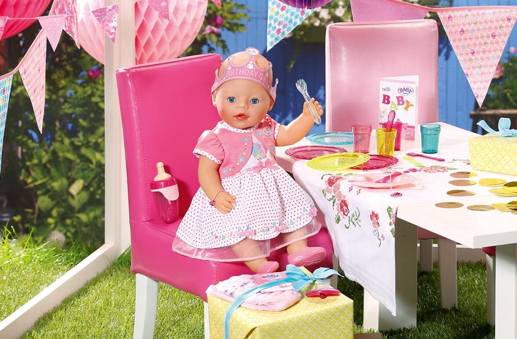 25 лет интерактивной кукле Беби Бон!