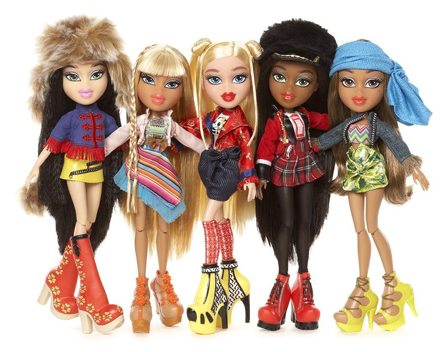 """Куклы Bratz """"В путешествии"""""""