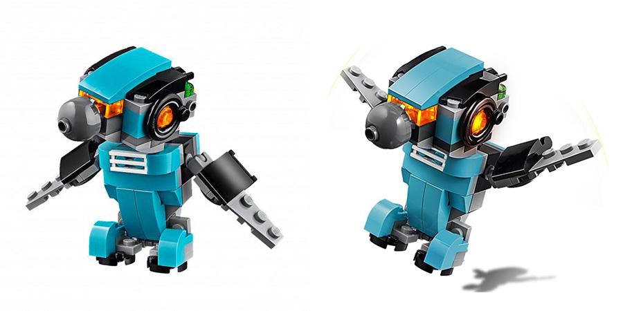 LEGO Creator 31062 Лего Криэйтор Робот-исследователь