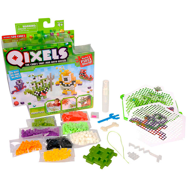 """Qixels Q87001 Квикселс Набор для творчества """"Монстрики"""""""