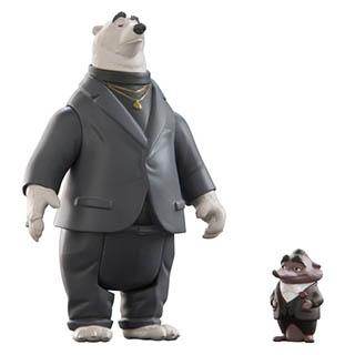 Zootropolis Z70003 Зверополис Мистер Биг и медведь-телохранитель