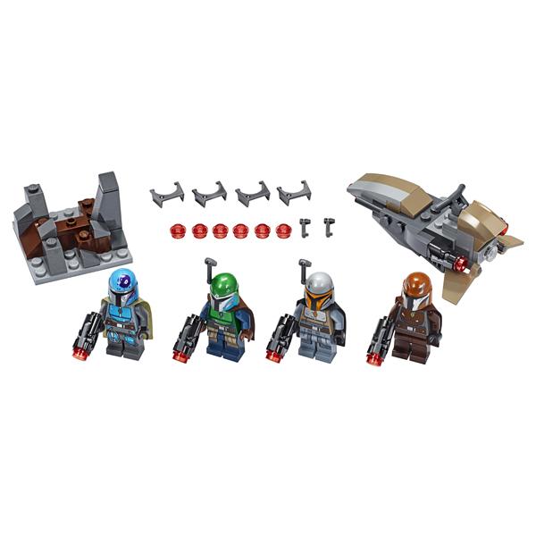 LEGO Star Wars 75267 Конструктор ЛЕГО Звездные войны Боевой набор: мандалорцы