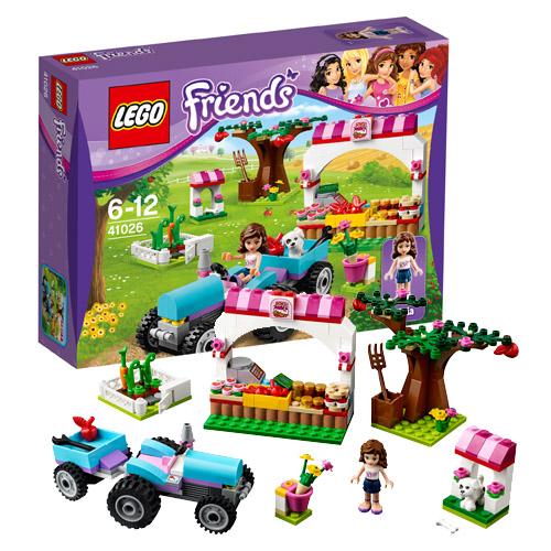 Конструктор Lego Friends Sunshine Harvest 41026 Лего Подружки Сбор урожая
