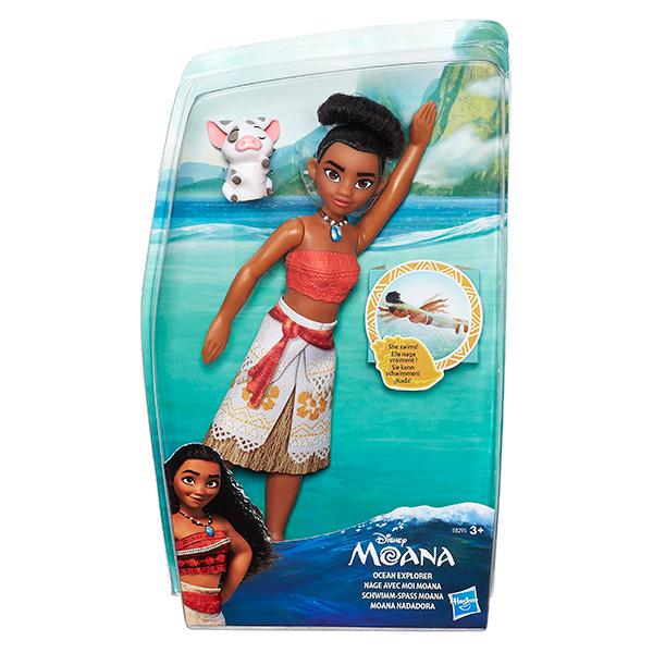 Hasbro Disney Princess B8295 Моана Кукла с артикуляцией
