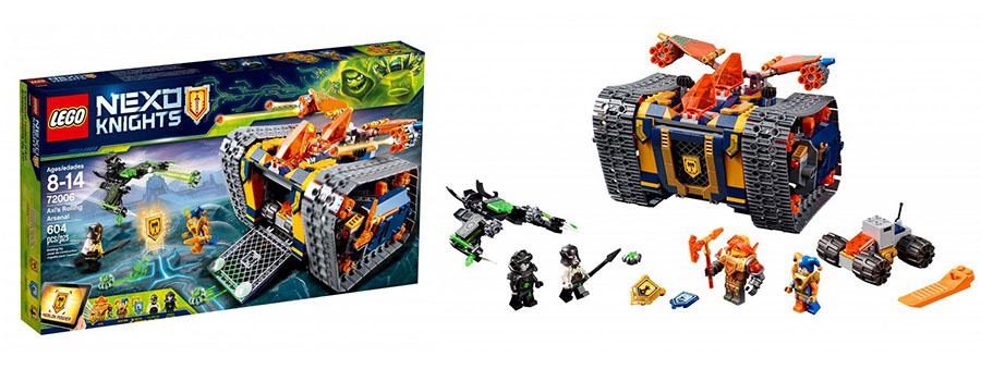 Lego Nexo Knights Мобильный арсенал Акселя 72006
