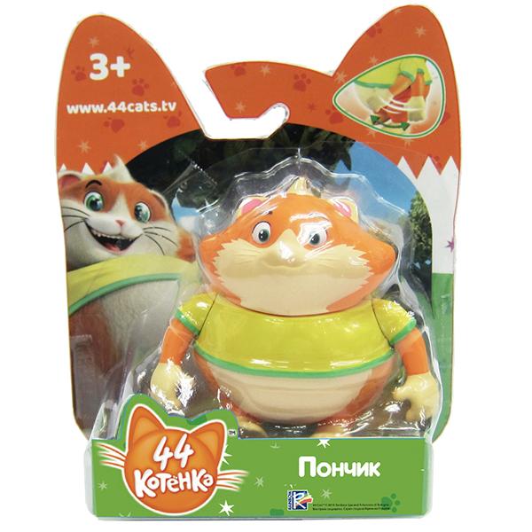 Toy Plus 44 Котёнка 34124 Фигурка Пончик 7,5 см