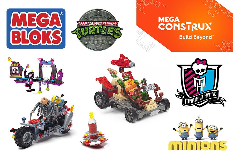MEGA BLOKS Mega Construx Build Beyond