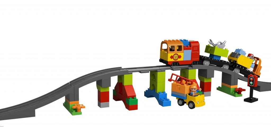 Lego Duplo Железная дорога