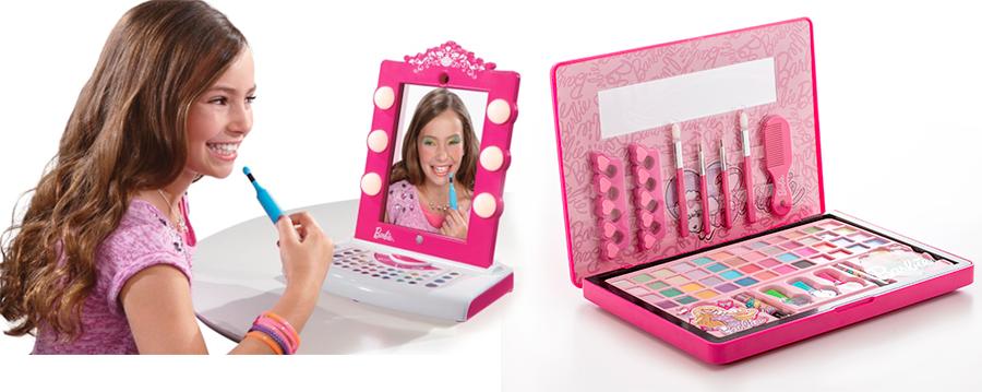 Детская косметика Makwins Barbie