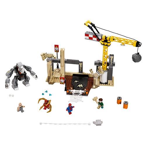 Конструктор Lego Super Heroes 76037 Лего Рино и Песочный человек