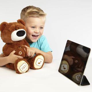 Интерактивный плюшевый медведь Luv`n Learn