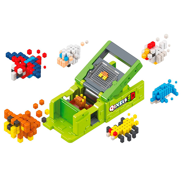 "Qixels Q87053 Квикселс Набор для творчества Машинка для создания 3D фигурок ""3D Принтер"""
