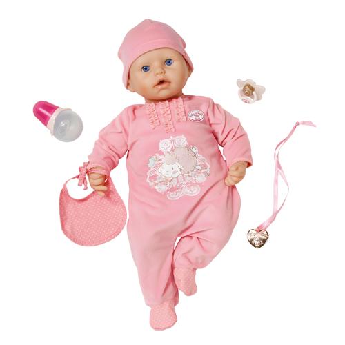 Кукла BABY ANNABELL с мимикой от Zapf Creation