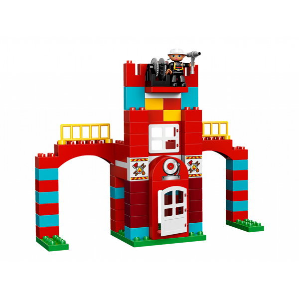 Lego Duplo 10593 Лего Дупло Пожарная станция альтернативная постройка