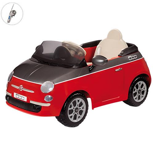 Детский электромобиль Peg-Perego ED1163 FIAT 500 (красный) + р/у