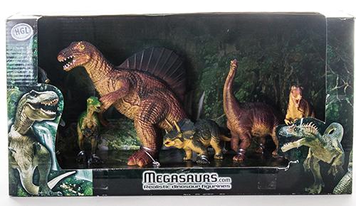 Игровой набор динозавров Megasaurs SV10605 Мегазавры, 6 шт