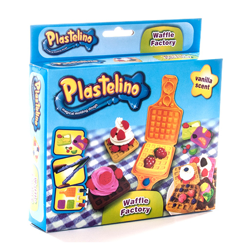 Масса для лепки Plastelino NOR2663 Пластелино Вафли