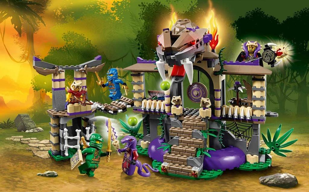 Lego Ninjago 70749 Храм клана Анакондрай