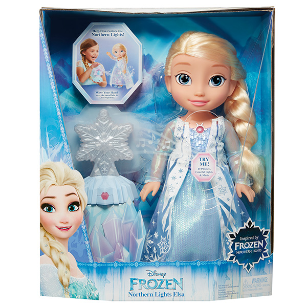 Disney Princess 297750 Принцессы Дисней Кукла Холодное Сердце Эльза Северное сияние