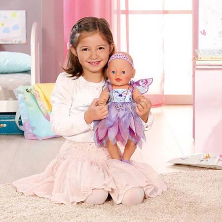 Кукла Zapf Creation Baby born 820-698 Фея Интерактивная, 43 см
