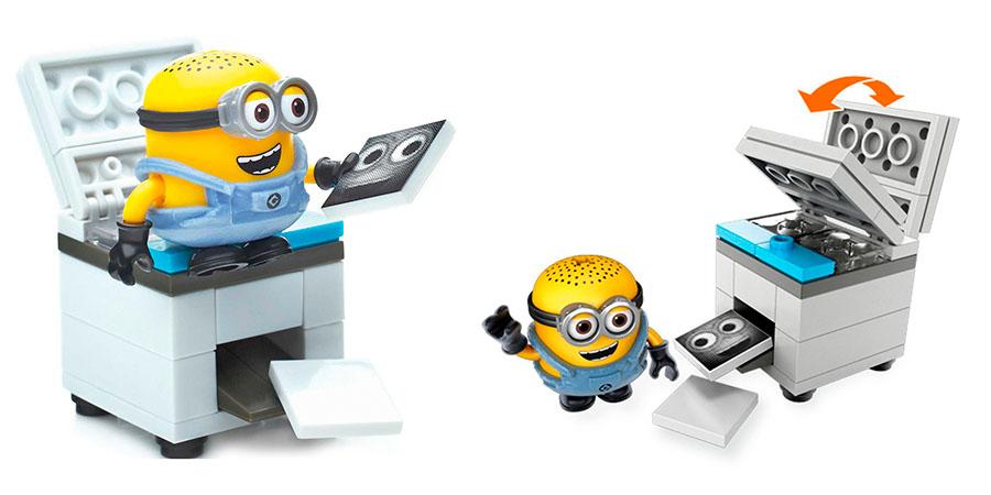 Mattel Mega Bloks DMV20 Мега Блокс Миньоны: весёлые мини-игровые наборы