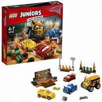 """Lego Juniors 10744 Лего Джуниорс Тачки Гонка """"Сумасшедшая восьмерка"""""""