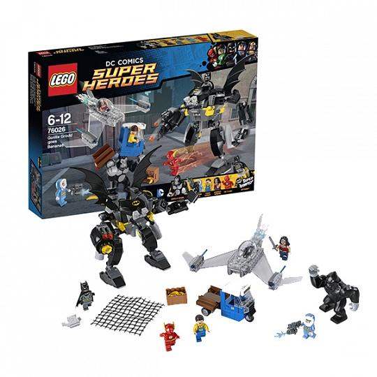 Lego Super Heroes Свирепость Гориллы Гродда