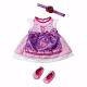 Zapf Creation Baby born 821-428 Бэби Борн Платье Красотка, в пакете с держателем