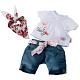 Zapf Creation Baby born 812-792 Бэби Борн Одежда На отдыхе (в ассортименте)