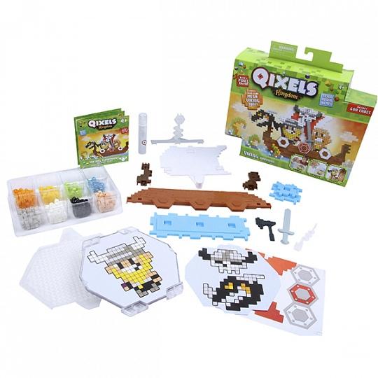 Qixels 87036 Квикселс Набор для творчества Королевство